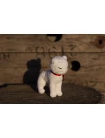 Игрушка кошка связанная крючком