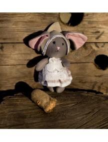 Игрушка мышка текстильная