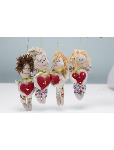 Куклы Человечки с сердечками.