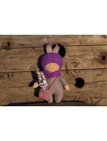 Игрушка Кукла Девочка с зайчиком